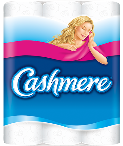 A package of Cashmere Bathroom Tissue
